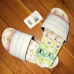 Adidas Originals Adilette Butterfly Slides